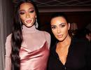 "Kim Kardashian lộ ""chân ngắn"" bên siêu mẫu Winnie Harlow"