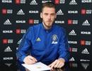 """De Gea ký hợp đồng với mức lương """"khủng"""" tại Man Utd"""