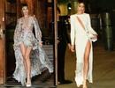 Abbey Clancy khoe chân dài miên man dự tuần lễ thời trang London