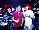 Đan Trường đội mưa đến tập hát cùng Quang Hà