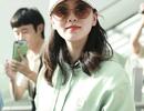 5 tháng sau khi sinh con, Lưu Thi Thi xuất hiện xinh đẹp tại sân bay