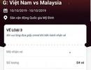 """Tiết lộ bất ngờ về cách mua vé trận Việt Nam - Malaysia của một dân """"phe"""""""