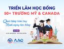 """3000+ học bổng """"khủng"""" lên tới 100% tại triển lãm học bổng Mỹ & Canada"""