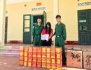 Bắt giữ 2 đối tượng vận chuyển hơn 1 tạ pháo lậu từ Trung Quốc về Việt Nam