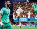 Benzema lập công, Real Madrid nhọc nhằn đánh bại Sevilla