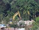 """Vụ """"xẻ thịt"""" rừng Sóc Sơn: Dừng cưỡng chế toàn bộ biệt thự ở thôn Minh Tân"""