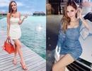 """Cô gái xinh đẹp trong hội """"Rich Kids"""" đón sinh nhật tại Maldives"""