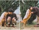 Khi gia đình giục cưới, 9X Sóc Trăng tung bộ ảnh với cún cưng thay câu trả lời