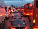 TPHCM: Cao tốc xả trạm, đường trở lại thành phố vẫn ùn tắc nghiêm trọng
