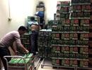 Phát hiện hàng nghìn két bia, nước ngọt không rõ nguồn gốc