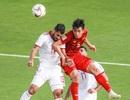 Những khoảnh khắc thi đấu kiên cường của đội tuyển Việt Nam trước Iran