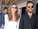 Chồng cũ Jennifer Aniston tươi tắn bên Elizabeth Hurley