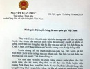 Thủ tướng chúc đội tuyển bóng đá Việt Nam giữ vững khát vọng chiến thắng