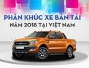 Phân khúc bán tải năm 2018: Lao đao vì chính sách thay đổi