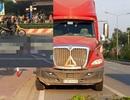 Cán 2 người tử vong, xe container vẫn chạy tiếp