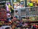 Quảng trường Thời đại ngập trong 50 tấn rác sau lễ đón năm mới
