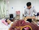 Cảnh sống mòn của người đàn ông bị nạn trên đường về đưa vợ đi sinh