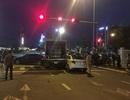 Xe tải húc 3 phương tiện dừng đèn đỏ đã hết hạn kiểm định