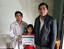 Gia đình anh Phạm Văn Công lần thứ 3 nhận quà từ bạn đọc Dân trí