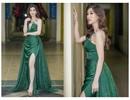 Hoa hậu Phí Thùy Linh trễ nải diện đầm xẻ cao ngút ngàn giữa trời đông