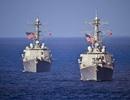 Tàu hải quân Mỹ áp sát quần đảo Hoàng Sa, thách thức Trung Quốc