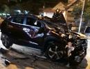 Cán bộ CSGT lái xe ô tô gây tai nạn liên hoàn