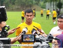 """Trung vệ Malaysia không ngại phải thi đấu trên """"chảo lửa"""" Mỹ Đình"""