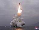 Triều Tiên bắn tín hiệu cứng rắn qua vụ khai hỏa tên lửa từ tàu ngầm