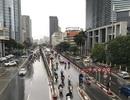 Sau trận mưa lớn, chất lượng không khí Hà Nội vẫn ở mức trung bình