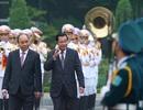 Thủ tướng Campuchia Hun Sen kết thúc chuyến thăm chính thức Việt Nam
