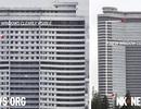 Vì sao Triều Tiên bất ngờ bịt kín cửa sổ cao ốc ở Bình Nhưỡng?