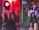 Con gái 13 tuổi của Vương Phi diện trang phục gợi cảm, vui chơi tại quán bar