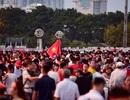 Không khí sôi động tại sân Mỹ Đình trước trận Việt Nam gặp Malaysia