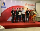 Nhãn hiệu phanh Brembo lừng danh F1 có mặt tại Việt Nam