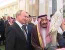 Tổng thống Putin tặng chim quý cho Quốc vương Ả rập Xê út