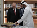 Ông Putin được chào đón hoành tráng chưa từng có tại UAE