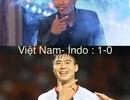 Dân mạng lại chế ảnh hài hước ăn mừng chiến thắng của đội tuyển Việt Nam