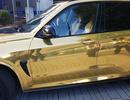 Cảnh sát tịch thu xe BMW X5 M vì dán crôm gây chói mắt