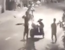 Nhóm thanh thiếu niên đánh người cướp xe máy bị camera ghi hình