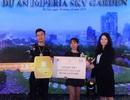 Đã tìm thấy chủ nhân của giải thưởng trị giá 2,8 tỷ đồng tại Imperia Sky Garden