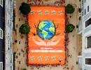 Học sinh FPT Hà Nội vẽ bức tranh khổng lồ lan tỏa thông điệp về môi trường