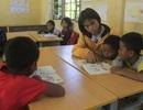 Bộ đội Biên phòng nuôi dưỡng, còn cho các cháu đến trường học chữ