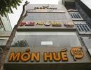 Hà Nội: Khung cảnh hoang tàn ở chuỗi cửa hàng Món Huế
