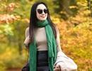 BTV Hoài Anh khoe dáng quyến rũ giữa mùa thu châu Âu