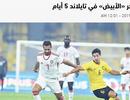 UAE đau đầu giải bài toán khó trước trận gặp tuyển Việt Nam
