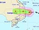 Sáng sớm mai bão số 5 vào đất liền các tỉnh Quảng Ngãi đến Khánh Hòa
