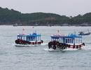 Ca nô đưa đón du khách đi thăm Vịnh Nha Trang được hoạt động trở lại
