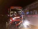 Tai nạn liên hoàn giữa 3 ô tô khách trên đường Hồ Chí Minh