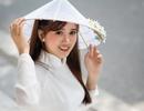 Thiếu nữ Phú Thọ đẹp như sương mai trong trang phục áo dài
