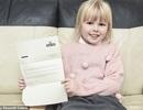 Lá thư của bé gái gửi cho người cha đã qua đời bất ngờ nhận được hồi đáp